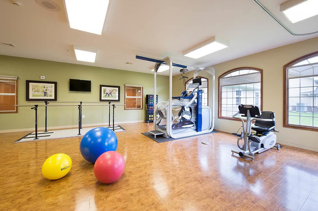 Gym at The Village at Hamilton Pointe